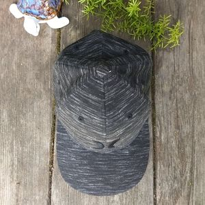 Hurley Flexfit black and white baseball hat
